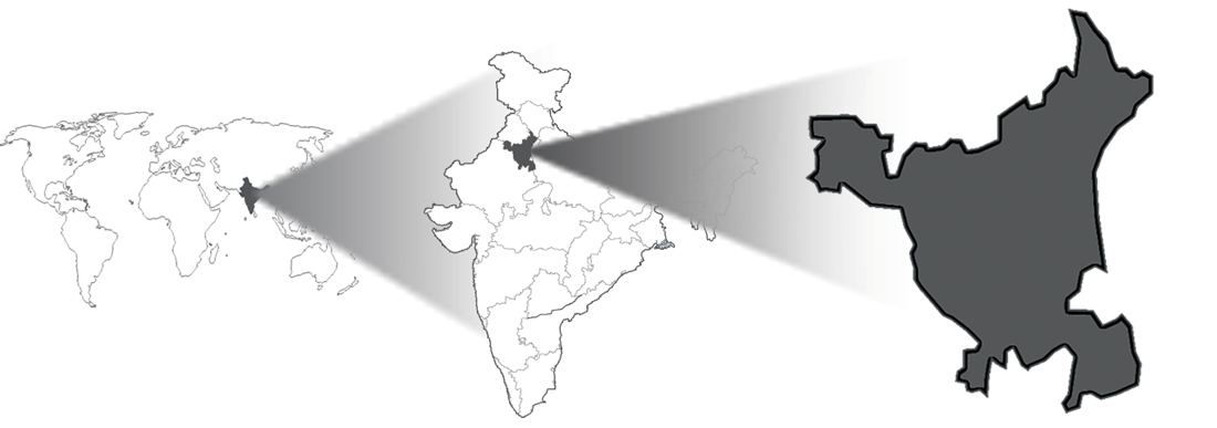 Haryana Location